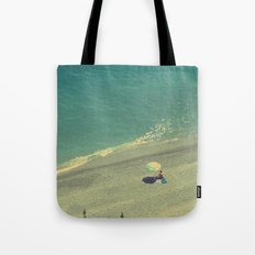 Lady on the Italian Riviera Tote Bag