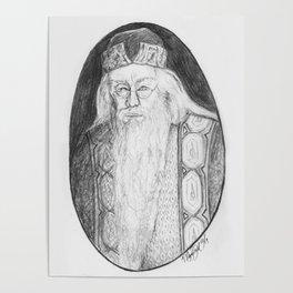 Albus Percival Wulfric Brian Dumbledore Poster