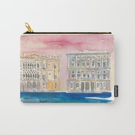 Venice Italy Palace On Canal Carry-All Pouch