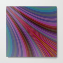 Shwoosh Metal Print