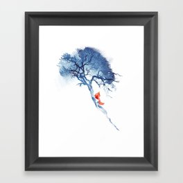 There's no way back Framed Art Print