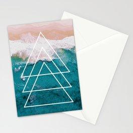 Beach Arrow / Geometric Stationery Cards