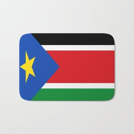Flag of south sudan Bath Mat