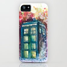 Doctor Who Tardis iPhone (5, 5s) Slim Case