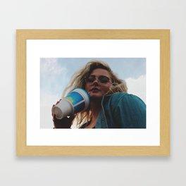 Hell Yeah Bitch Framed Art Print