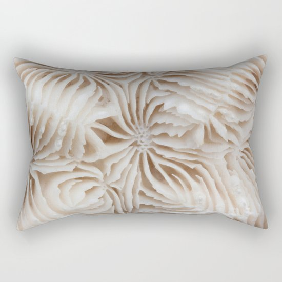 Coral Pattern Rectangular Pillow