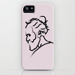 > g r a f i t e iPhone Case