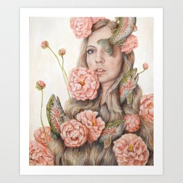 Flop or Flower Art Print