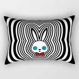 MK-ULTRA Bunny Rectangular Pillow