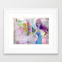 jane davenport Framed Art Prints featuring Perfect Little by Jane Davenport by Jane Davenport