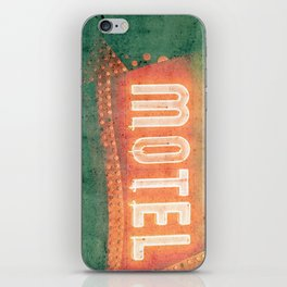 Old Motel iPhone Skin