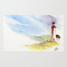 Lighthouse Impressions Rug