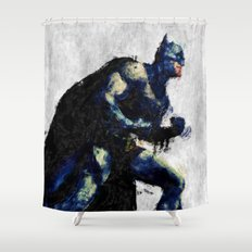Bat man Shower Curtain