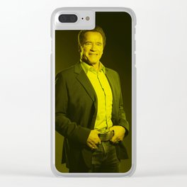 Arnold Schwarzenegger - Celebrity Clear iPhone Case