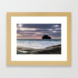 Really Rugged Coast II Framed Art Print