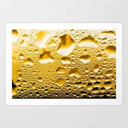 Condensation on a window Art Print