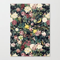 Floral and Birds IV Canvas Print