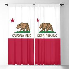 California flag Blackout Curtain