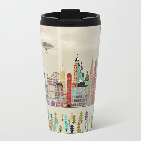 visit london england Metal Travel Mug