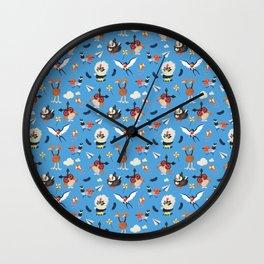 Air Cutter Wall Clock