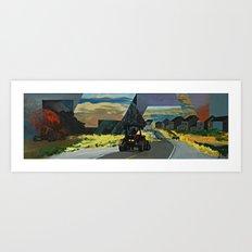 Tracktor Pull Art Print