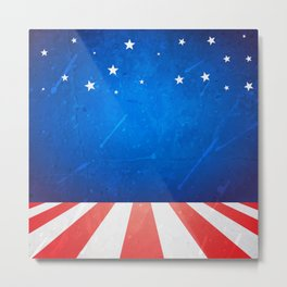 American background with space Metal Print