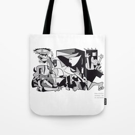 Pablo Picasso Guernica 1937 Artwork Shirt, Art Reproduction Tote Bag