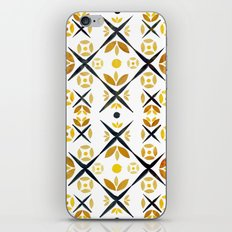 The Fence (Gold) iPhone & iPod Skin