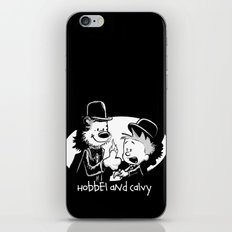 Hobbel and Calvy iPhone & iPod Skin