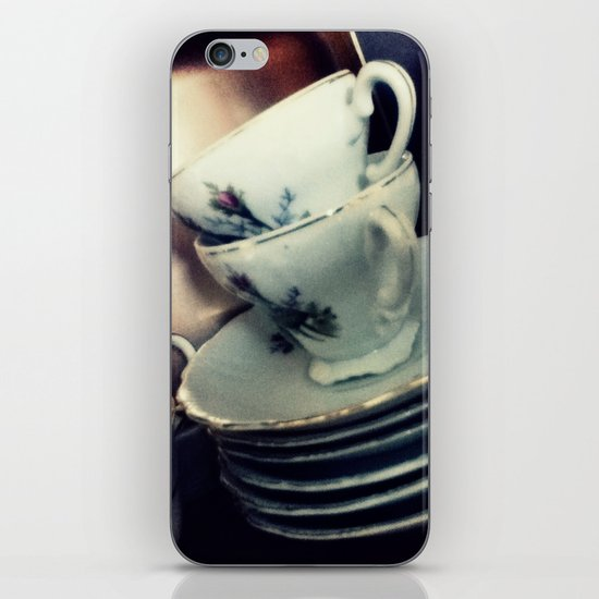 Tea for Two iPhone & iPod Skin