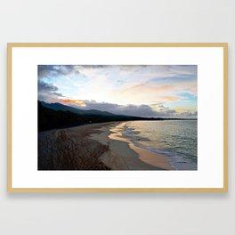 oneloa sunrise Framed Art Print