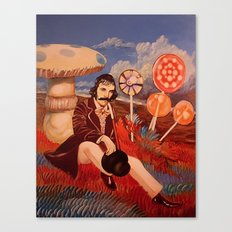 Billy Wonka Oil Painting Canvas Print