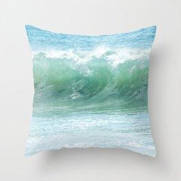 Surf Laguna Throw Pillow