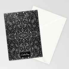 Piccadilly Circus Black & White Stationery Cards