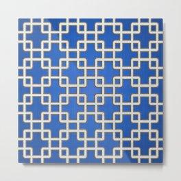 Pattern 1L Metal Print