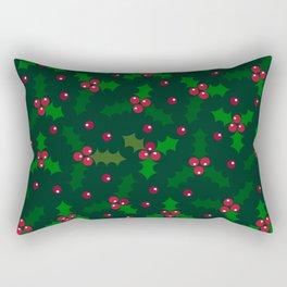 Holly Berries Rectangular Pillow