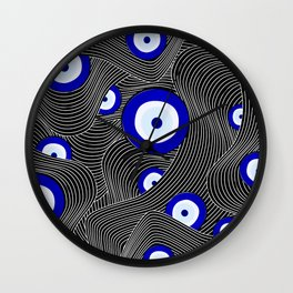Swerve Evil Eye Wall Clock