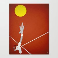 tennis Canvas Prints featuring Tennis by Osvaldo Casanova