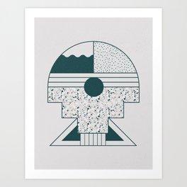 Rombo Art Print