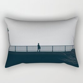 Crossing Rectangular Pillow