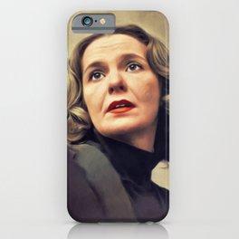 Geraldine Page, Vintage Actress iPhone Case