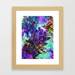 Mudded Two Framed Art Print