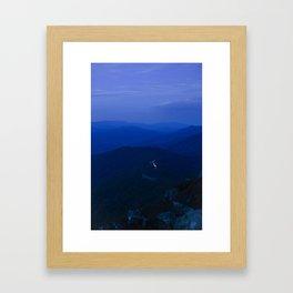 Twilight on the Blue Ridge Parkway Framed Art Print
