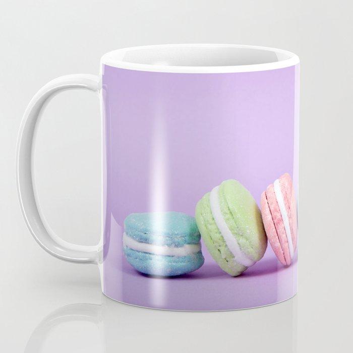 Row of Macaron Cookies Coffee Mug