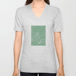 """Hearth and Home"" by ICA PAVON Unisex V-Neck"