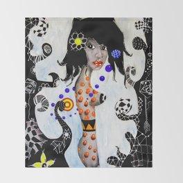 Madalena - La Flaca Throw Blanket