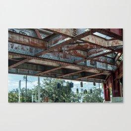 Under the Bridge, Jacksonville FL Canvas Print