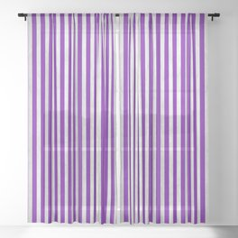 Stripes Collection: Sweet Passion Sheer Curtain