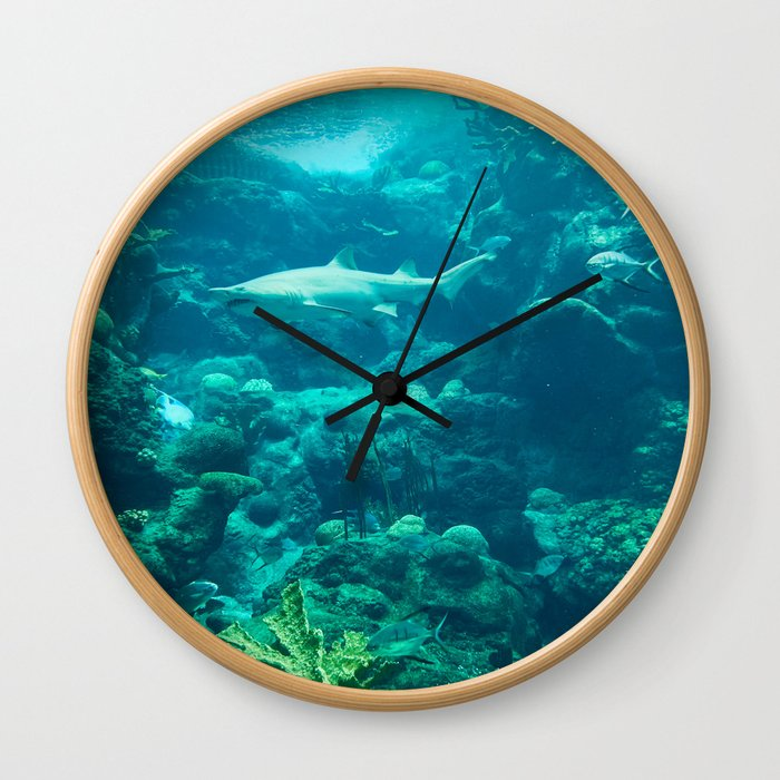 In the big blue world... Wall Clock