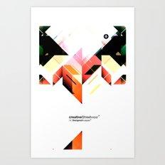 Abstrakt. Art Print